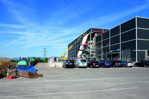 Die Bauarbeiten für die Erweiterung bei Haberkorn haben begonnen und sollen im Herbst 2019 abgeschlossen sein. haberkorn