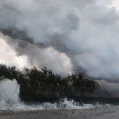 Vulkan speit Lava auf Hawaii – Gefährliches Gas im Pazifik