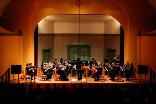 Die Emsiana wird auch im Jubiläumsjahr mit einem Konzert der tonart sinfonietta eröffnet.                               lisa Mathis/Emsiana
