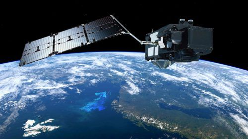Die Erde wird von zahlreichen Satelliten umkreist. Am 19. Mai gesellen sich zwei weitere dazu, die eine besondere Aufgabe haben. afp