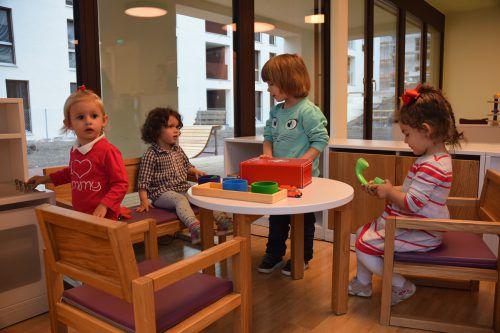 Die ersten Stadtwichtel sind bereits in die neuen Räume im Werdenbergpark eingezogen. Heute erfolgt die offizielle Eröffnung der neuen Kleinkindbetreuungseinrichtung. StB
