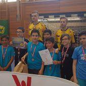 Riedener Mittelschüler als Sieger im Völkerball