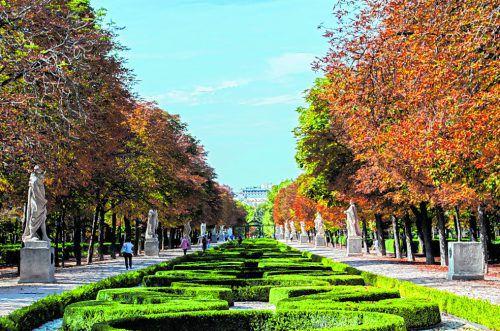 Die Lunge von Madrid: der Retiro-Park mitten im Stadtzentrum.