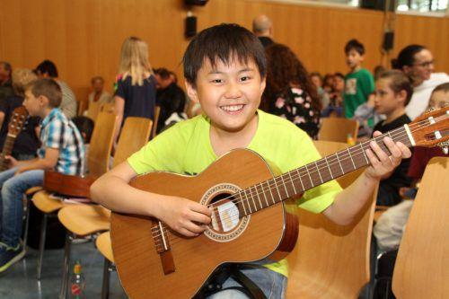 Die Nachwuchstalente der Musikschule begeisterten die Zuhörer.