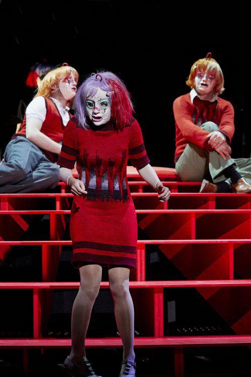 """Die Premiere von """"Kaspar"""" von Peter Handke fand gestern Abend im Kornmarkttheater in Bregenz statt. LT/Köhler"""