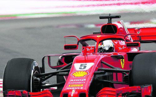 Die Rückspiegel von Ferrari stehen in der Diskussion.ap
