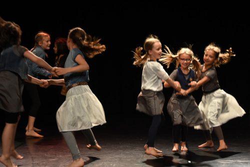 Die Tanzklassen der Musikschule Dornbirn öffnen ihr Tanzportal im Rahmen der Kulturtage der Stadt zum Thema Europa und laden am Samstag in den Spielboden Dornbirn ein. Caroline Begle