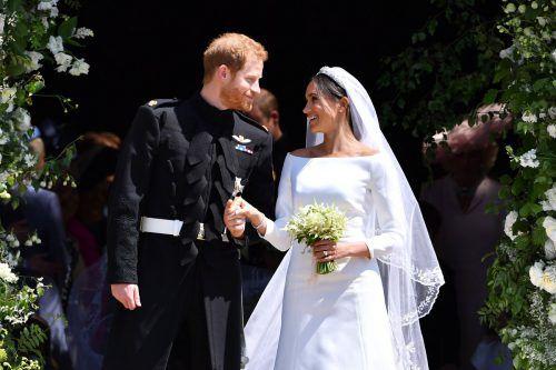 Die Traumhochzeit von Prinz Harry und Meghan hat Millionen Menschen in ihren Bann gezogen.AFP