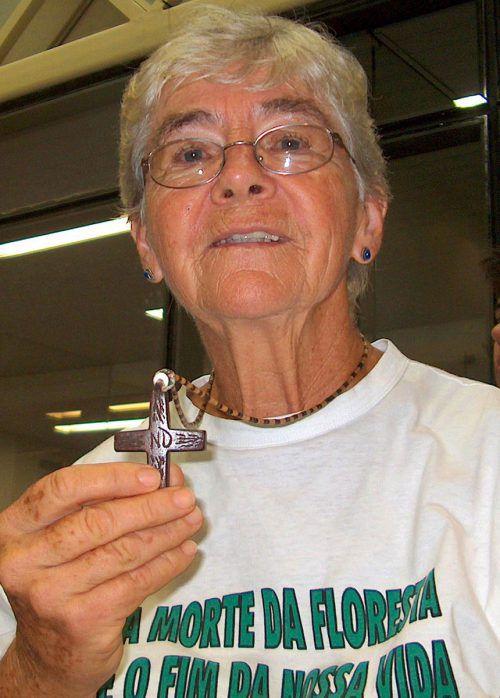 Die US-Ordensfrau Dorothy Stang wurde 2005 ermordet. AP