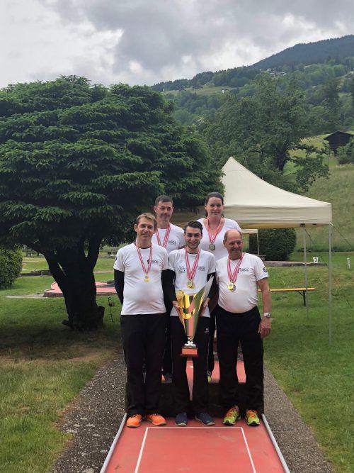 Die Vereinsmannschaft des BGC Sparkasse Bludenz sicherte sich den Sieg bei derUnion Bundesmeisterschaft in Schruns. Verein