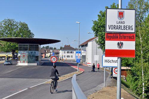 Die Zollamtsplätze in Höchst und St. Margrethen werden asphaltiert.