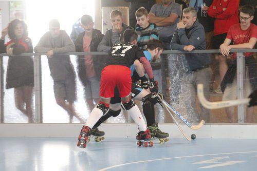 Die zweite Mannschaft des RHC will in Wolfurt Tore schießen.