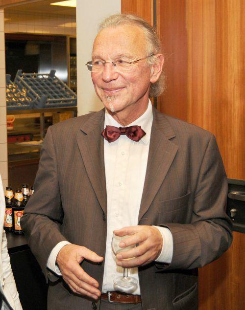 Dr. Markus Brändle, Bassbariton, beim Konzert in Höchst am Montag.