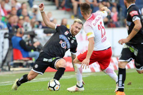 """Drei Tage nach dem Ligaduell in Salzburg muss Sturm im Cupfinale schon wieder gegen die """"Bullen"""" ran.gepa"""