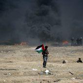 Zorn und Trauer im Gazastreifen