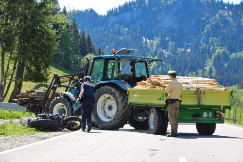 Ein Überholmanöver wurde dem Vorarlberger Motorradfahrer am Riedbergpass zum tödlichen Verhängnis. Haselsberger
