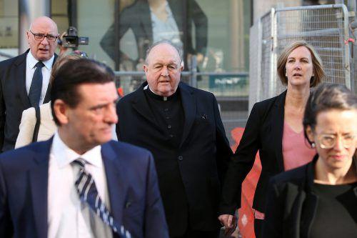 Erzbischof Wilson wurde im Missbrauchsskandal für schuldig befunden. AAP/Lorimer