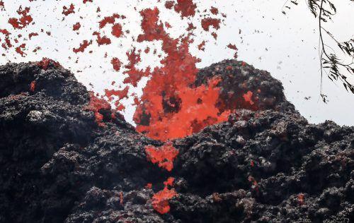 Experten befürchten, dass ein großer Ausbruch des Kilauea bevorstehen könnte. AFP