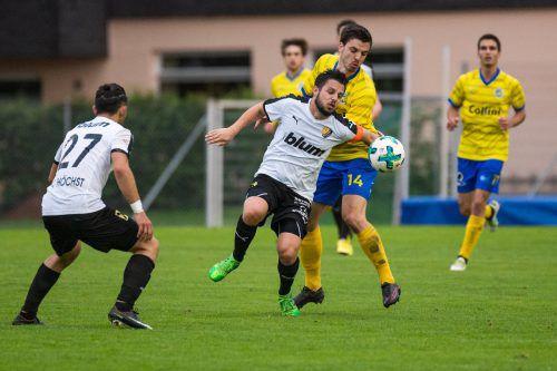 FC Höchst zieht nach einem 1:0-Sieg über Hohenems ins VFV-Cupfinale ein.vn