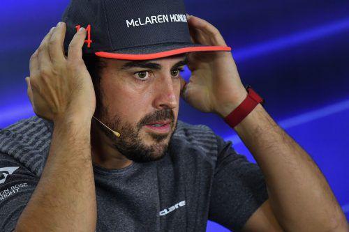 Fernando Alonso kann es auch auf der Langstrecke und siegt in Spa.Afp