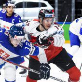 2:4-Niederlage für Österreich bei der Eishockey-WM gegen die Slowakei. C1