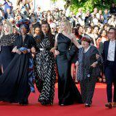 Prominente Film-Künstlerinnen fordern Rechte ein