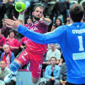 Meister Alpla HC Hard nach 28:27 gegen West Wien im Finale gegen Fivers. C1