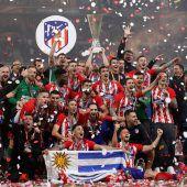 Atlético bejubelt Europa-League-Sieg