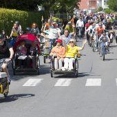 Fahrradparade zum Gutshof