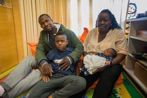 Die Familie Osaghea steht vor der Abschiebung nach Nigeria. Alle Versuche, es zu verhindern, schlugen bislang fehl.vn/steurer