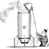 Atomarer Taubenschlag!
