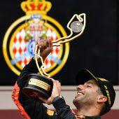 Daniel Ricciardo siegt in Monaco. C7