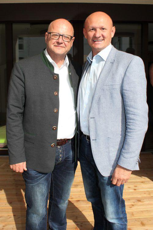 Finanz- und Hochbaustadtrat: Gerhard Krump und Joachim Weixlbaumer.