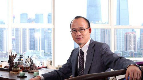 Fosun-Chef Guo Guangchang ist nun auch Herr in der Bregenzer Wolfordstraße. FA/FI