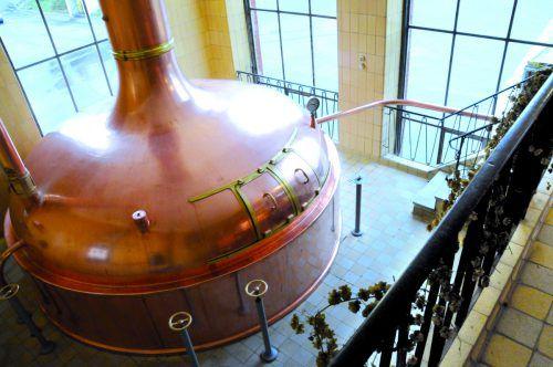 Frastanzer Bierproduzenten wälzen große Pläne für die Zukunft. Hier ein Blick ins Innere der Brauerei.