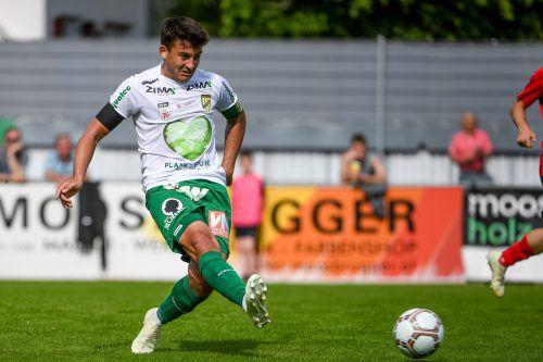 Für Austria-Kapitän Marco Krainz wird die Saison durch die beiden U-21-Länderspiele noch einmal verlängert.gepa