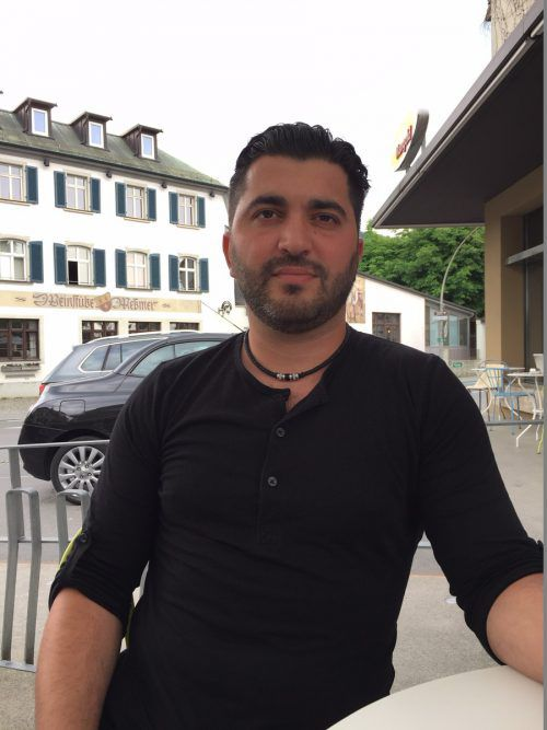 Für Deniz Cakin war der flüchtende Täter kein Unbekannter. VN/GS