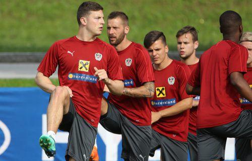 Für ÖFB-Teamkicker wie Kevin Wimmer besteht die Chance, sich in den anstehenden Testspielen gegen Russland, Deutschland und Brasilien ins Rampenlicht zu spielen.gepa
