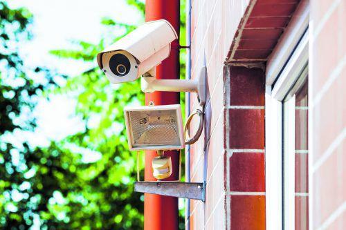Für Videoüberwachungen gelten nun noch schärfere Vorschriften.foto: Shutterstock