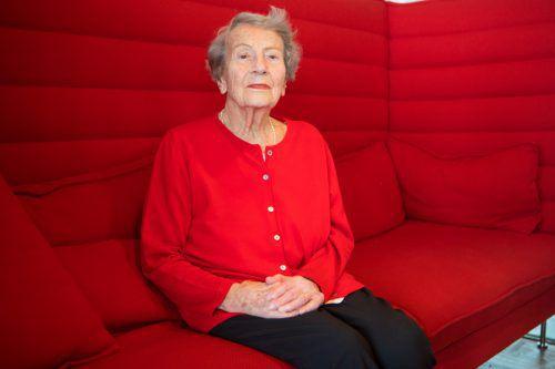 Gertrude Liebe erinnert sich noch gut an die Zeit des Nationalsozialismus.Vn/KH