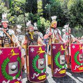 Unter Adlern und der brütenden Hitze Roms