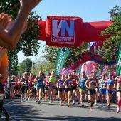 Training für den Frauenlauf