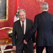 Guterres verteidigt in Wien das Atomabkommen mit dem Iran