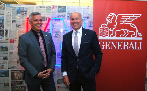 Generali-Vorarlberg-Direktor Markus Winkler (l.) und Generali-Österreich-Vorstand Arno Schuchter wollen lebenslang Partner für ihre Kunden sein. AH