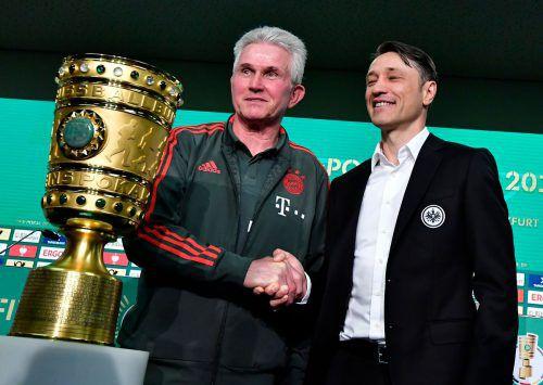 Haben im Cup noch ein Hühnchen zu rupfen: Der bei Bayern scheidende Jupp Heynckes und sein Nachfolger Niko Kovac.