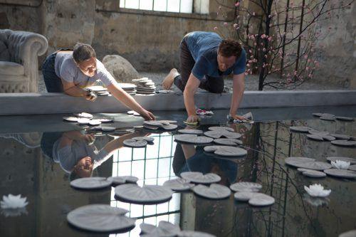 """Hans Op de Beeck, hier im Kunstraum Dornbirn, reüssierte auf der Art Basel mit seinem """"Collector's House"""". VN/Hartinger"""