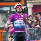 Der dritte Streich beim Giro von Viviani