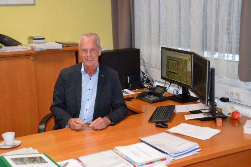 Gottfried Brändle wird im Frühjahr nicht mehr zur Wahl antreten.Christof Egle