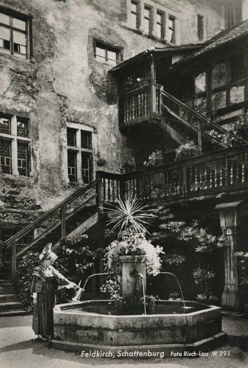 """Im Jahr 1912 wurde der """"Museums- und Heimatschutz-Verein für Feldkirch und Umgebung"""" gegründet.  Helmut Klapper, Postkartensammlung, Vorarlberger Landesbibliothek"""