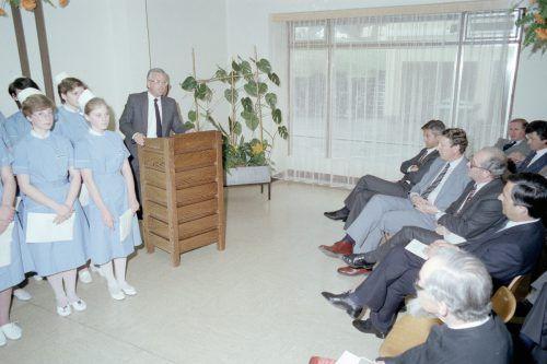 In den Jahren 1982/83 wurde das Gebäude generalsaniert. Die feierliche Wiedereröffnung erfolgte am 30. März 1984.